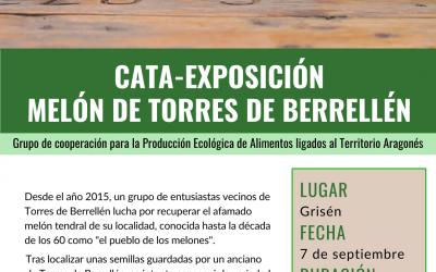 CATA-EXPOSICIÓN MELÓN DE TORRES DE BERRELLÉN